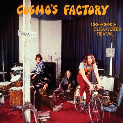 Cosmo'S Factory (1/2 Half Speed Masters Limited Edt.) - Creedence Clearwater Revival - LP