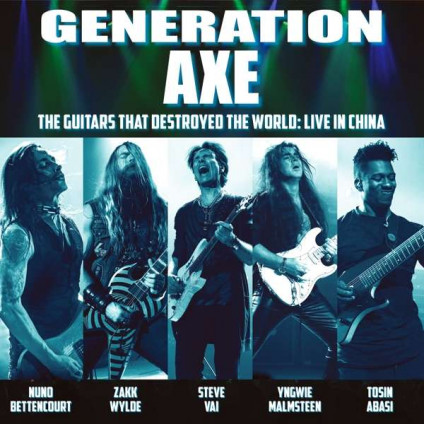 The Guitars That Destroyed The World: Live In China - Generation Axe - CD