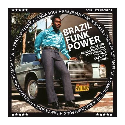 "Brazil Funk Power - Brazilian Funk & Samba Soul (Box 5 X 7'') (Rsd 2020) - Compilation - 7"""