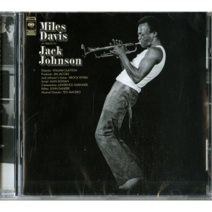 A Tribute To Jack Johnson - Miles Davis - CD