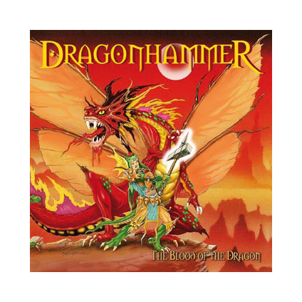 The Blood Of The Dragon (MMXV Edition) - Dragonhammer - CD