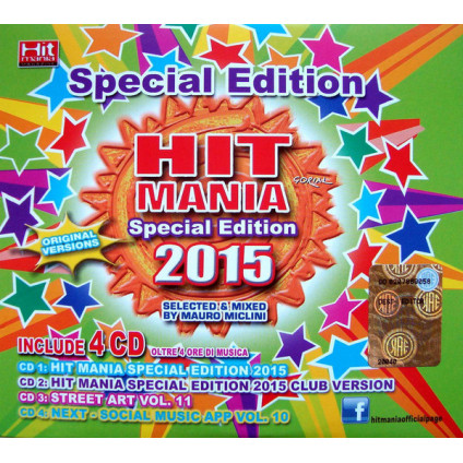 Hit Mania Special Edition 2015 - Various - CD