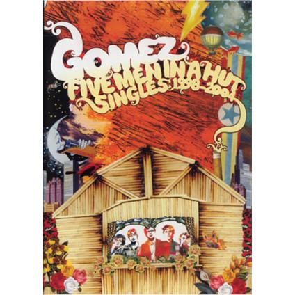 Five Men In A Hut (Singles: 1998-2004) - Gomez - CD
