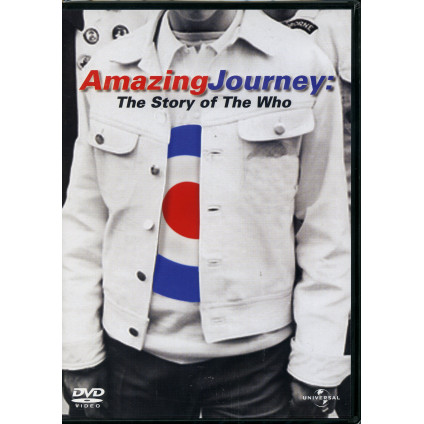 Amazing Journey: The Story Of The Who - Documentario - CD