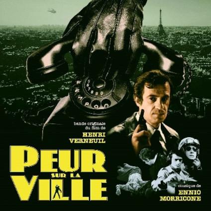 Peur Sur La Ville - Ennio Morricone - LP
