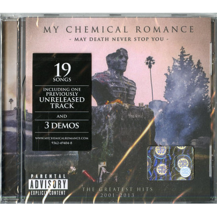 May Death Never Stop You - My Chemical Romance - CD