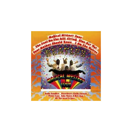 Magical Mystery Tour - The Beatles - LP