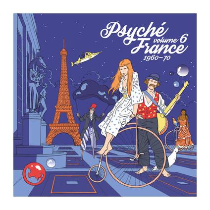 Psyché France 1960-70 Volume 6 - Various - LP