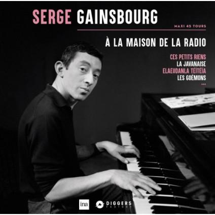 A La Maison De La Radio - Serge Gainsbourg - LP