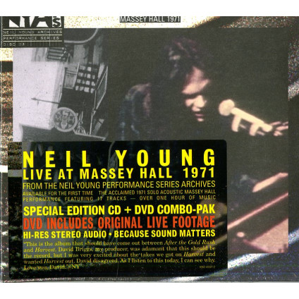 Live At Massey Hall 1971 - Neil Young - LP
