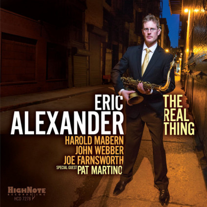 The Real Thing - Eric Alexander - CD
