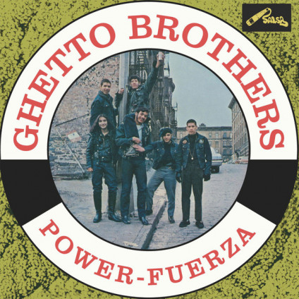 Power-Fuerza - Ghetto Brothers - LP