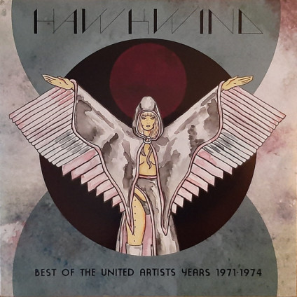Best Of The United Artists Years 1971-1974 - Hawkwind - LP