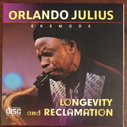 Longevity And Reclamation - Orlando Julius Ekemode - CD