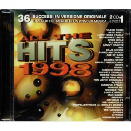 All The Hits 1998 - Various - CD