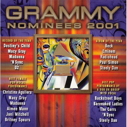 Grammy Nominees 2001 - Various - CD