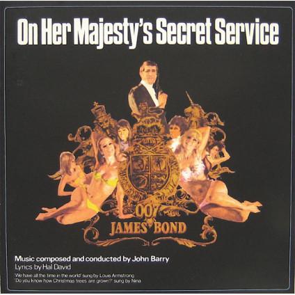 On Her Majesty's Secret Service (Original Motion Picture Soundtrack) - John Barry - CD