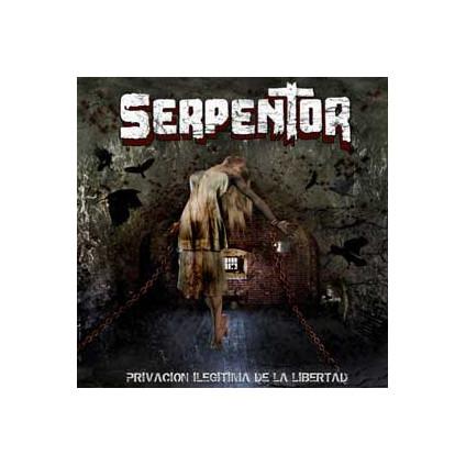 Privacion Ilegitima De La Libertad - Serpentor - CD+DV