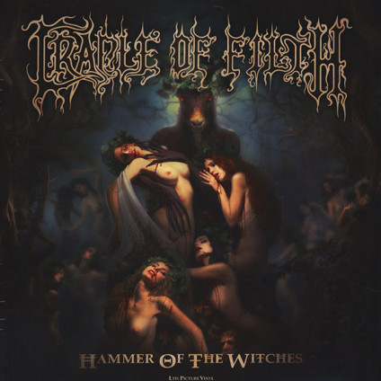 Hammer Of The Witches - Cradle Of Filth - LP