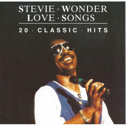 Love Songs - 20 Classic Hits - Stevie Wonder - CD