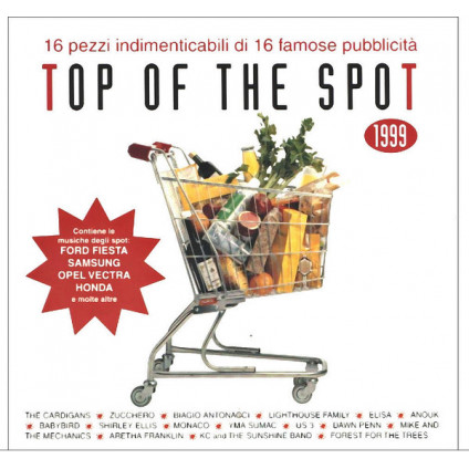Top Of The Spot 1999 - Various - CD