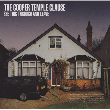 See This Through And Leave - The Cooper Temple Clause - CD