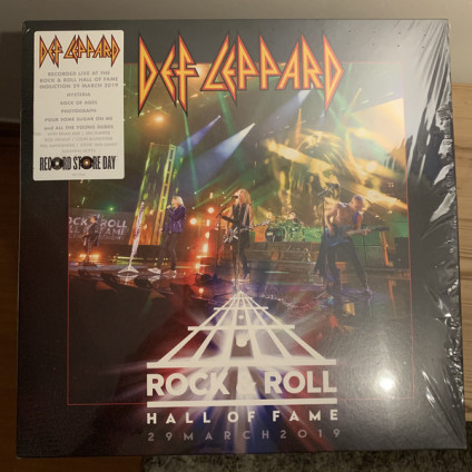 Rock & Roll Hall Of Fame 29 March 2019 - Def Leppard - LP