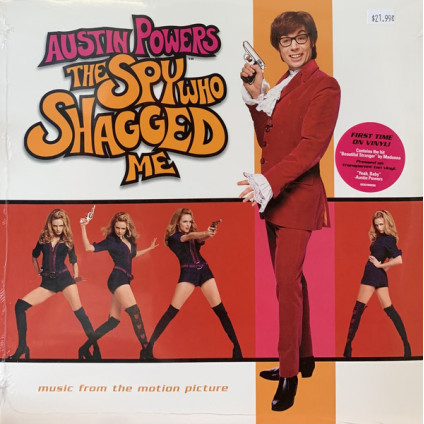 Austin Powers - The Spy Who Shagged Me (Music From The Motion Picture) - Various - LP