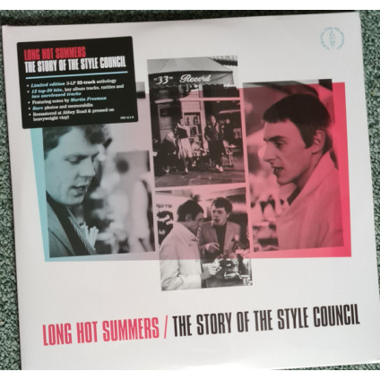 Long Hot Summers / The Story Of The Style Council - The Style Council - LP