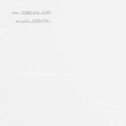 Starting Over - Chris Stapleton - LP