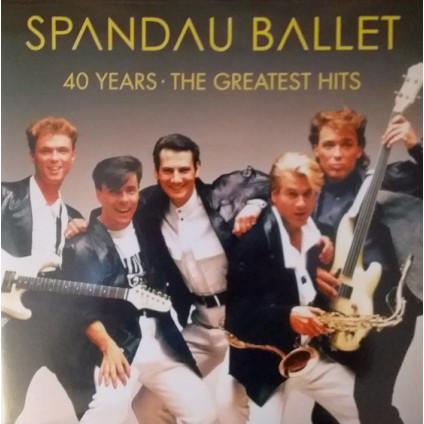 40 Years: The Greatest Hits - Spandau Ballet - LP