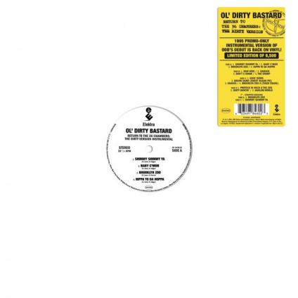 Return To The 36 Chambers: The Dirty Version Instrumental - Ol' Dirty Bastard - LP