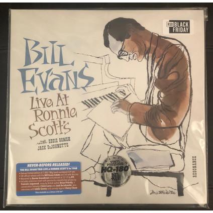Live At Ronnie Scott's - Bill Evans - LP