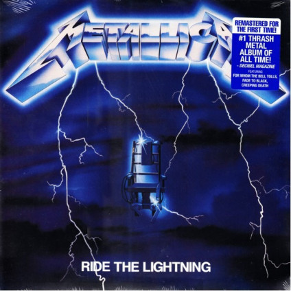 Ride The Lightning - Metallica - LP