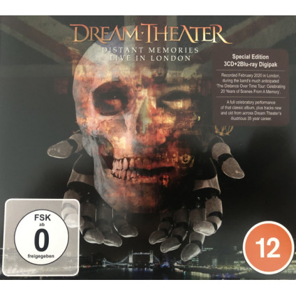 Distant Memories • Live In London - Dream Theater - CD