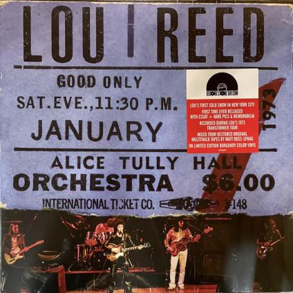 Live At Alice Tully Hall (January 27