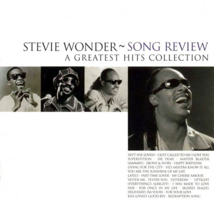 Song Review - A Greatest Hits Collection - Stevie Wonder - CD