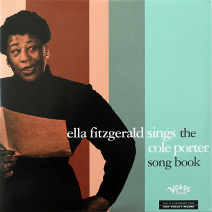 Sings The Cole Porter Song Book - Ella Fitzgerald - LP