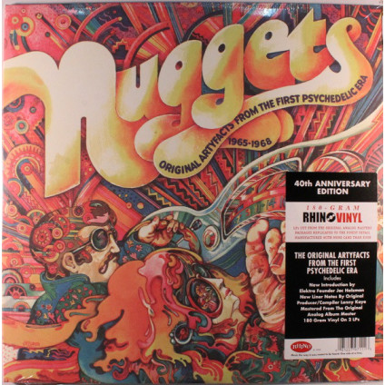 Nuggets: Original Artyfacts From The First Psychedelic Era 1965-1968 - Various - LP
