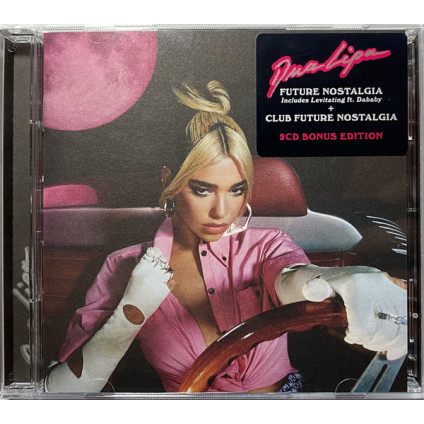 Future Nostalgia + Club Future Nostalgia - Dua Lipa - CD