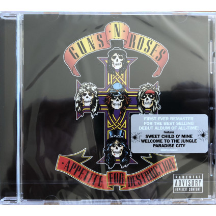 Appetite For Destruction - Guns N' Roses - CD