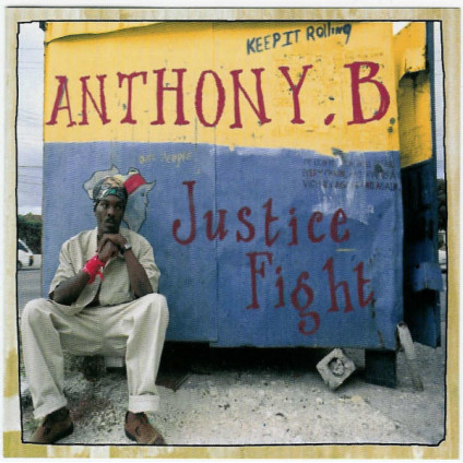 Justice Fight - Anthony B - CD