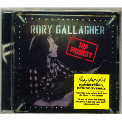 Top Priority - Rory Gallagher - CD
