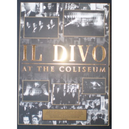 At The Coliseum - Il Divo - LP
