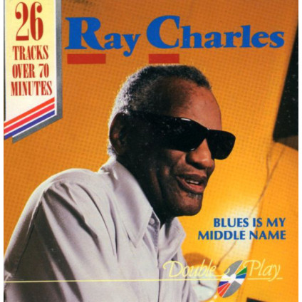 Blues Is My Middle Name - Ray Charles - CD