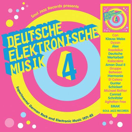Deutsche Elektronische Musik 4 (Experimental German Rock And Electronic Music 1971-83) - Various - LP