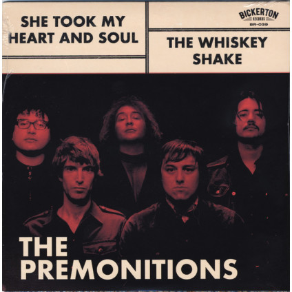 She Took My Heart And Soul / The Whiskey Shake - The Premonitions - LP