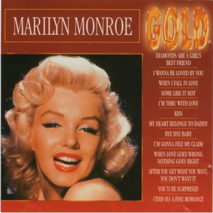 Gold - Marilyn Monroe - CD