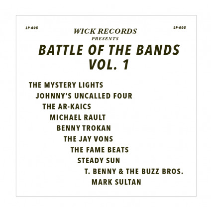 Wick Records: Battle Ofthe Bands Vol.1 - Compilation - LP