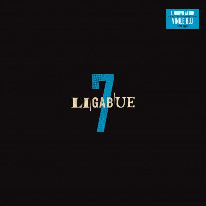 7 (Vinyl Blue) - Ligabue - LP